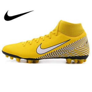 Original 2018 NIKE SUPERFLY 6 ACADEMY NJR AG-R Men's Football Shoes Soccer Shoes Sneakers Waterproof Designer Athletics Official