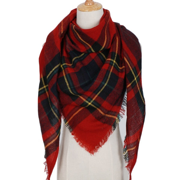 Winter Triangle Scarf For Women