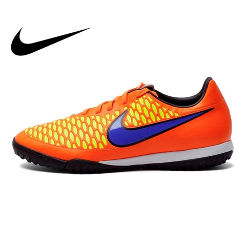 Original NIKE MAGISTA ONDA TF Men's Soccer Shoes Football New Sneakers Men DMX Leather Waterproof Lace-up Soccer Boots 651549