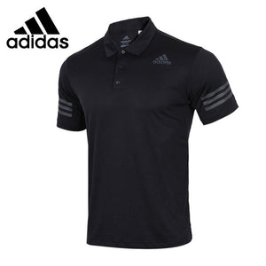 Original New Arrival 2018 Adidas CLIMACOOL exercise  POLO shirt  Men's short sleeve Sportswear