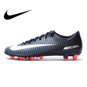 Original Authentic NIKE MERCURIAL VICTORY VI AG-PRO Men's Light Comfortable Football Soccer Shoes Sneakers Breathable 831963013
