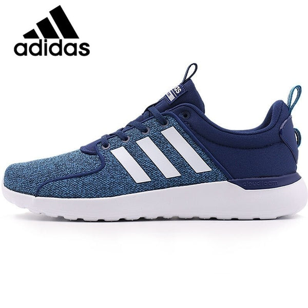 Original Adidas NEO Label LITE RACER Men's Skateboarding Shoes Sneakers Breathable Anti-Slippery Hard-Wearing mens shoes AW4031