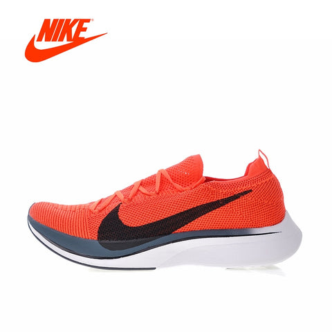 2018 Original New Arrival Authentic Nike Vaporfly Flyknit 4% Men's Running Shoes Sport Outdoor Sneakers Gym Shoes Low AJ3857-601