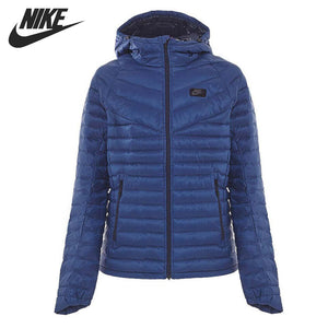 Original NIKE M NSW JKT HD DN FLL AOP GUILD Men's Down coat Hiking Down Sportswear