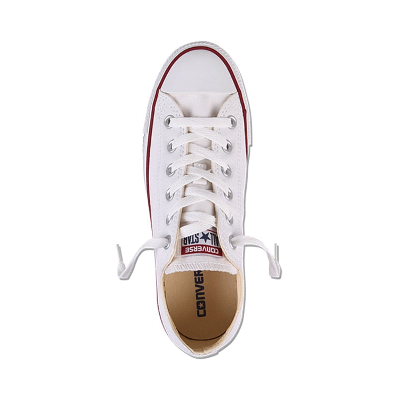 af57865e1e7c0c ... Authentic Converse ALL STAR Classic Breathable Canvas Low-Top  Skateboarding Shoes Unisex Anti-Slippery ...