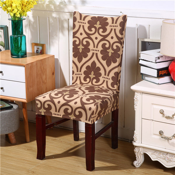 Floral Dining Chair Covers - EconomicShopping