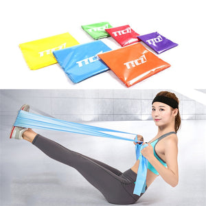 2018 Hot Gym Fitness Equipment Strength Training Latex Elastic Resistance Bands Workout Crossfit Yoga Rubber Loops Sport Pilates