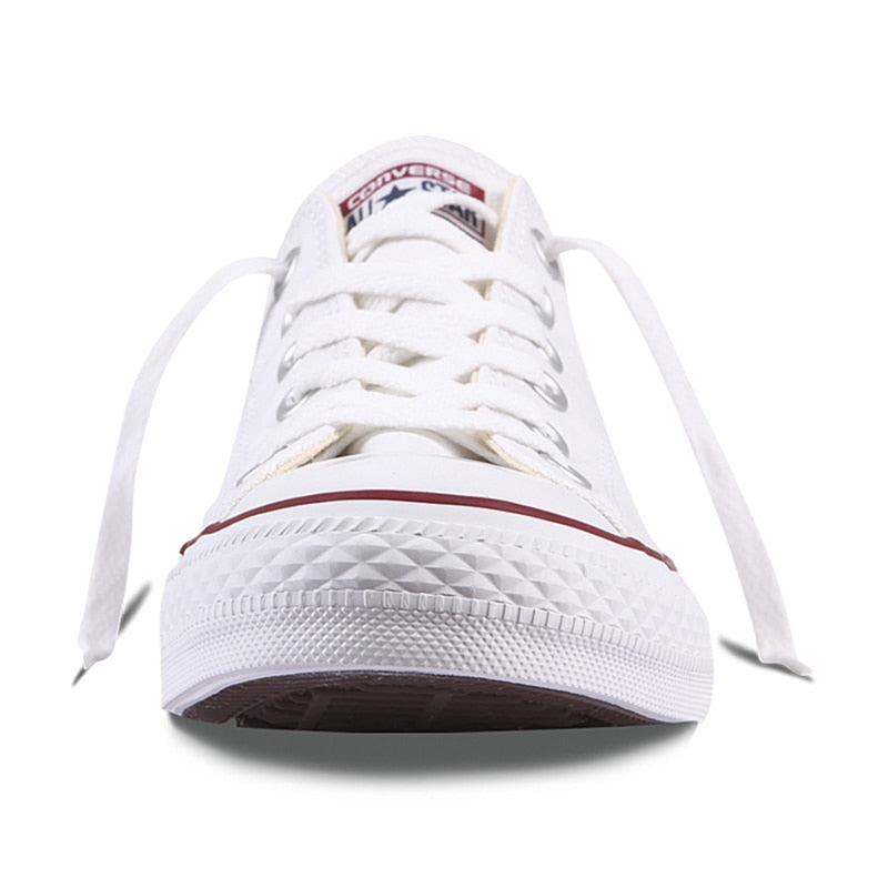 79bac8747a37 ... Authentic Converse ALL STAR Classic Breathable Canvas Low-Top  Skateboarding Shoes Unisex Anti-Slippery ...