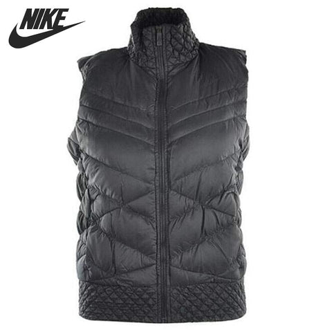 Original NIKE Women's Down coat Vest Warm down jacket Sportswear