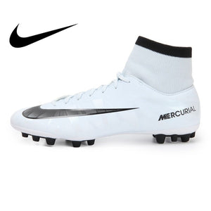 Original NIKE VCTRY VI DF CR AG-R Men's Football Shoes Sneakers Breathable Comfortable Soccer Boots Lace-up Sneakers Men AH4041