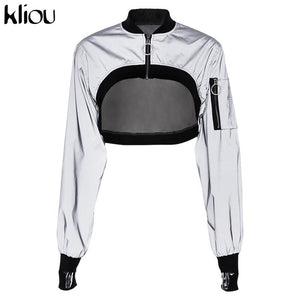 Autumn Winter Reflector Jacket - EconomicShopping