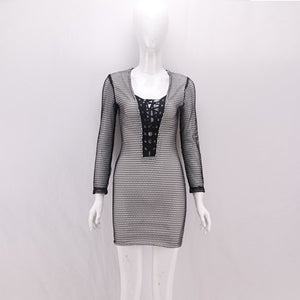 Knitted Elegant Designer Party Dress
