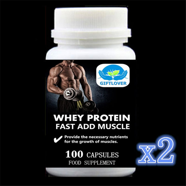 Fast Add Muscle with Whey PROTEIN - Glucose - Yam - Taurine and Vitamine B - EconomicShopping