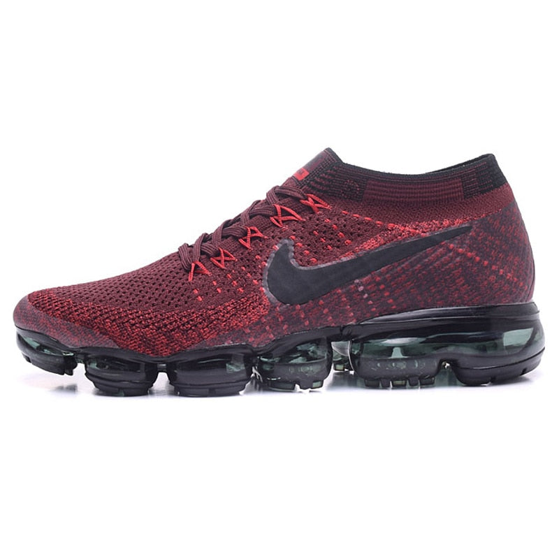fcdc774bf03 ... Original New Arrival Authentic Nike Air Vapormax Flyknit Men s Running  Shoes Sport Outdoor Sneakers Breathable 849558 ...
