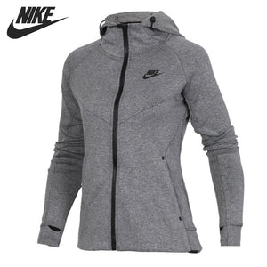 Original New Arrival  NIKE AS W NSW TCH FLC HOODIE FZ Women's  Jacket Hooded Sportswear