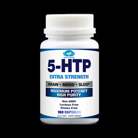100pcs/bottle 5-HTP,Enhance Your Mood,Sleep,Relaxation,Calm,Appetite Control;Supplement For Anti Stress Support & Anxiety Relief - EconomicShopping