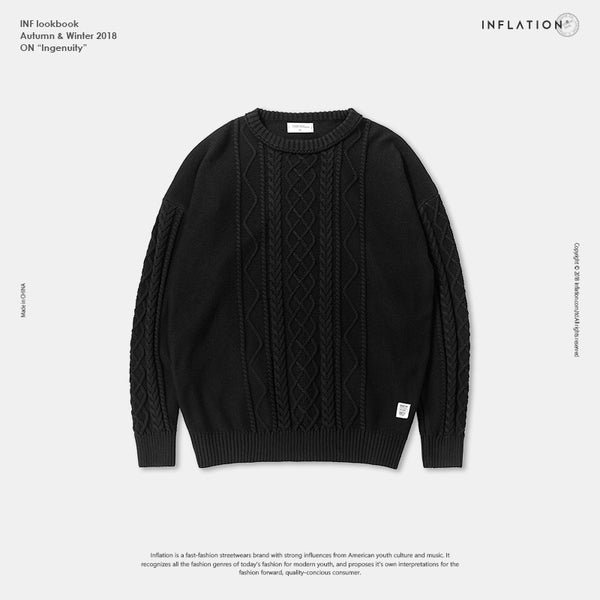 Fashion Mens Sweaters O-neck