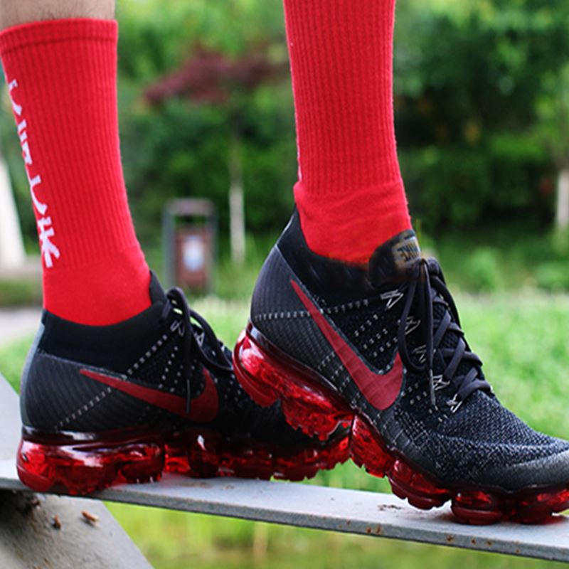 fb4244b22 ... Original Nike Air VaporMax Be True Flyknit Breathable Men's Running  Shoes Outdoor Sports Comfortable Durable Jogging ...
