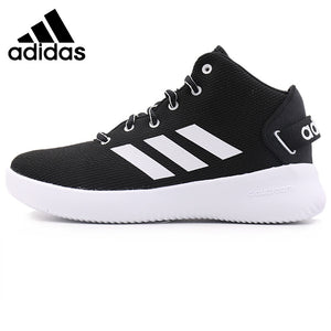 43ee1b4f3436 Official Original Adidas Neo Label CF REFRESH MID Women s Skateboarding  Shoes Sneakers Anti-Slippery Hard