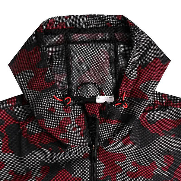 Original New Arrival 2018 Adidas WB CAMO AOP Men's  jacket Hooded Sportswear