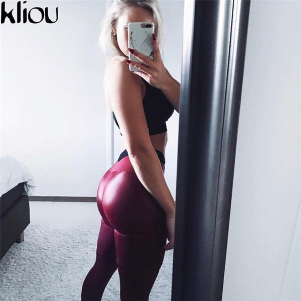 Black Heart Shape Booty Leggings - EconomicShopping