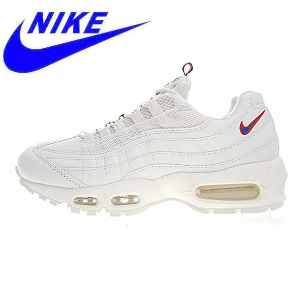 Nike Air Max 95 TT Men and Women Running Shoes,Outdoor Sneakers Shoes, White, Abrasion Resistant, Shock Absorption AJ1844 600