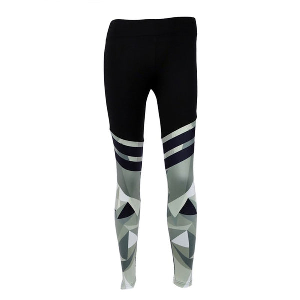 Camouflage Patchwork Women Leggings - EconomicShopping