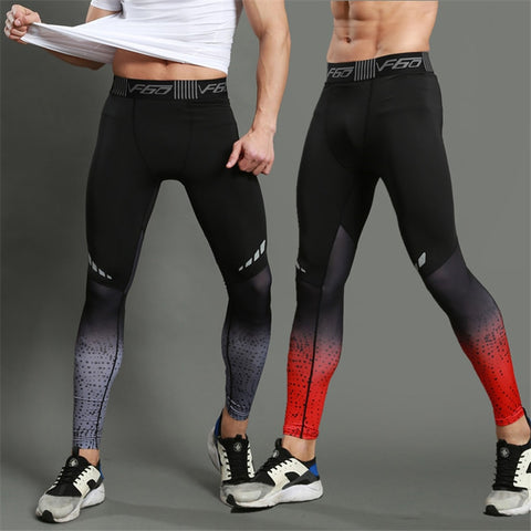Running Compression Pants Tights Men Sports Leggings Fitness Sportswear Long Trousers Gym Training Pants Skinny Leggins Hombre