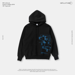 Tapes Design Function Hoodies Men