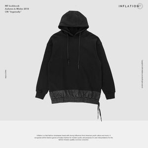 Black Casual Hooded New Fashion Hoodie for Male - EconomicShopping