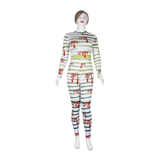 Bandage Splatter Blood Costume Cosplay - EconomicShopping