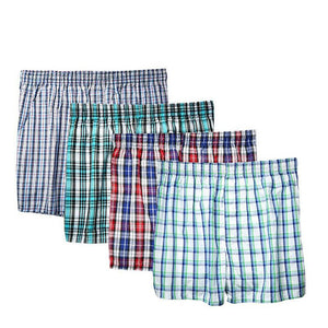 4 pcs/lot Cotton Boxers - EconomicShopping