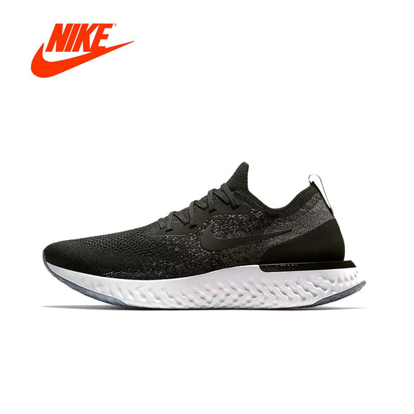 Original New Arrival Authentic Nike Epic React Flyknit Mens Running Shoes Sneakers Comfortable Breathable Sport Outdoor Shoes