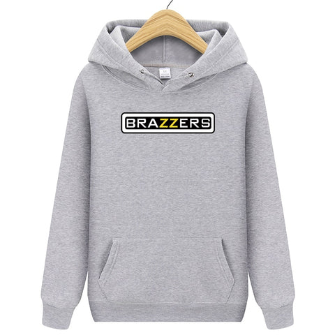 Hoodies Men Brand suprem Brazzers Long Sleeve Solid Color Hooded Sweatshirt Mens Hoodie Tracksuit Sweat Coat Casual Sportswear