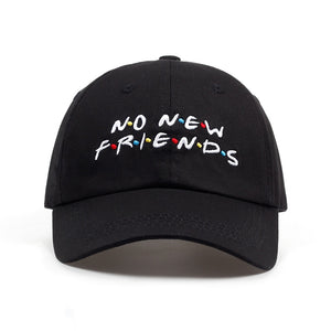2018 No New Friends Cap - EconomicShopping