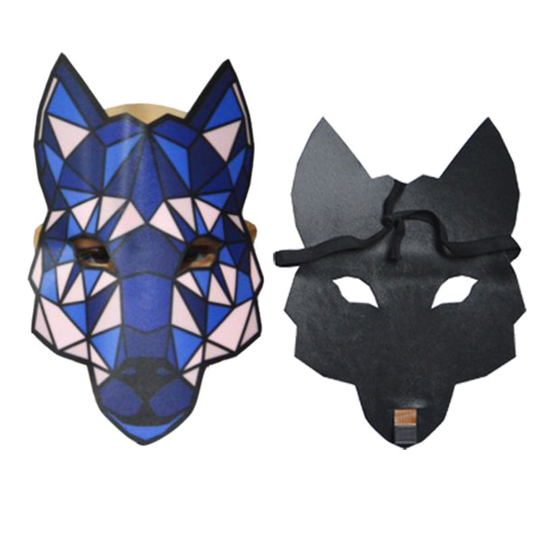 Hot Flashing Cosplay Wire Mask Halloween LED Mask - EconomicShopping