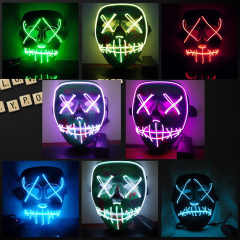 LED Light Mask from The Purge Election Year - EconomicShopping