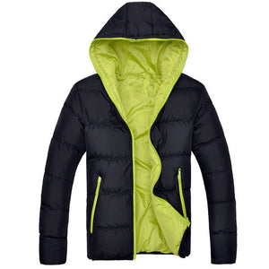 Winter Casual New Hooded Thick Padded Jacket