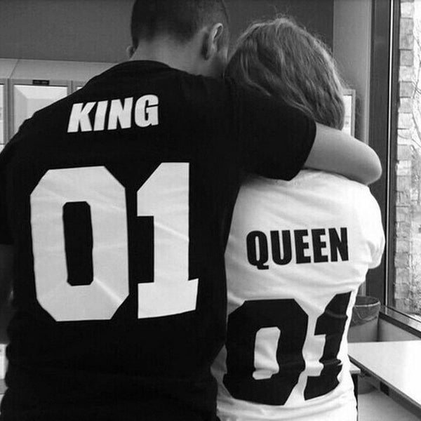 The Queen and King T-Shirt - EconomicShopping