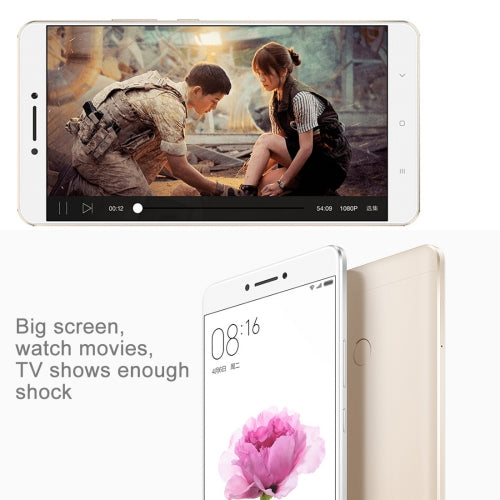 Xiaomi Max 32GB 4G Fingerprint Identification 4850mAh Hex Core 1.8GH 6.44 inch MIUI 8 OS Snapdragon 650 Hexa Core mobile phone