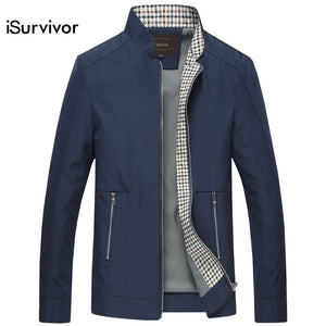 Casual Fashion Slim Fitted Autumn Jacket for Men - EconomicShopping