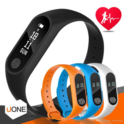 M2 Fitness tracker Watch Band Heart Rate Monitor Waterproof Activity Tracker Smart Bracelet Pedometer Call remind Health Wristband With OLED