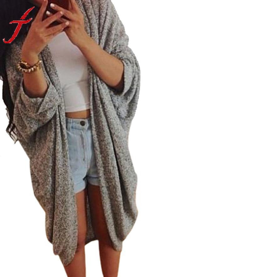 Casual Grey Cardigan - EconomicShopping
