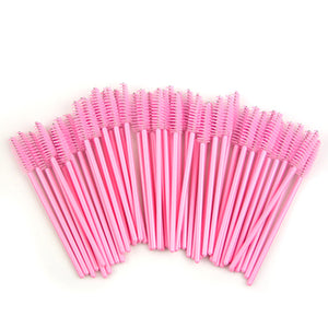 50 Pieces Eyelash Brushes - EconomicShopping