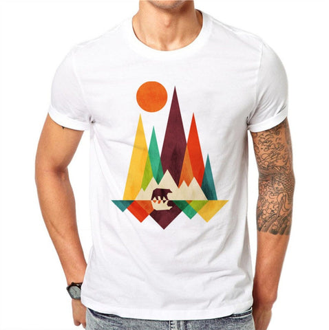 The Mountain Bear Design T-shirts - EconomicShopping