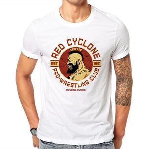 The Russia Moscow Red Cyclone T-Shirt - EconomicShopping