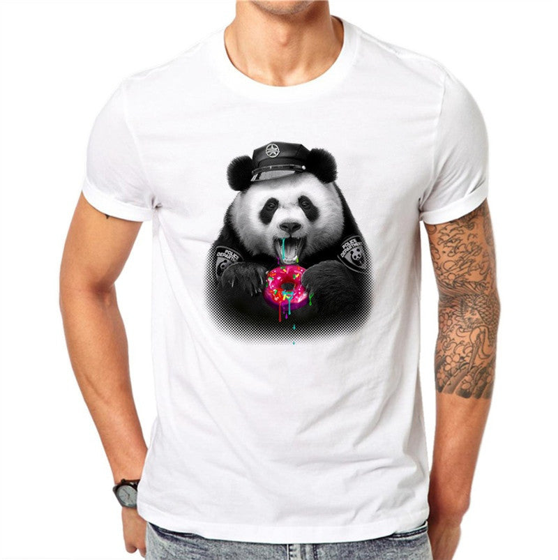 The Donut Panda T-Shirt - EconomicShopping