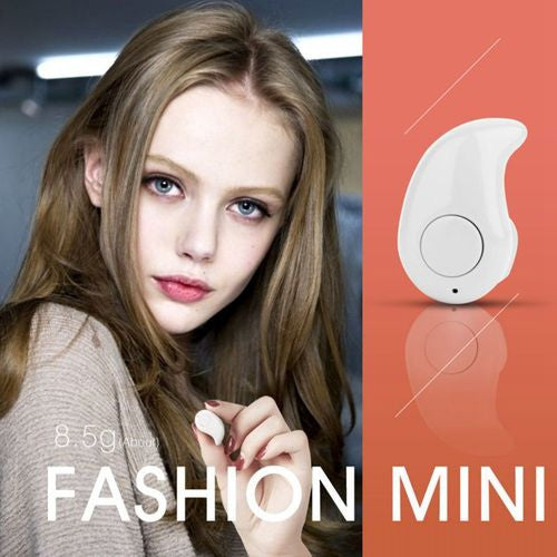 Mini Bluetooth Headset Stereo Handsfree Microphone In-Ear Headphones - EconomicShopping