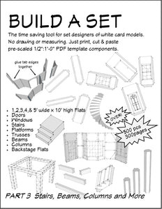 Build a Set Part 3 Stairs, Beams, Columns, Platforms & More