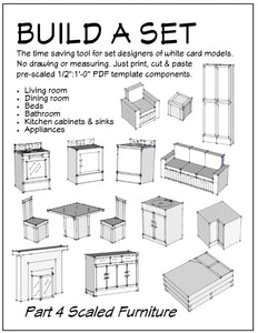 Build a Set Part 4 Furniture